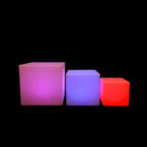 led kubus in verschillende maten