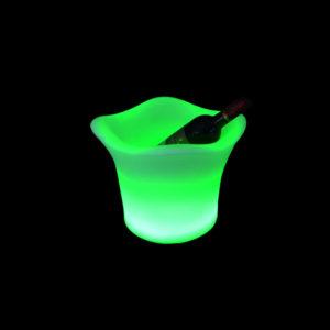 Verlichte LED ijsemmer