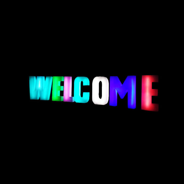 LED Welcome