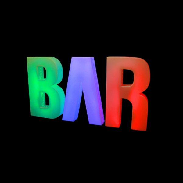 Letter BAR
